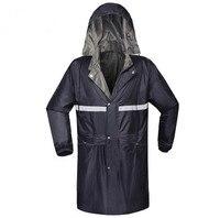 Adult Men Outdoor Raincoat Thicker Slicker Heavy Rain Gear Rainsuit High Quality Rain Cape Jacket Long