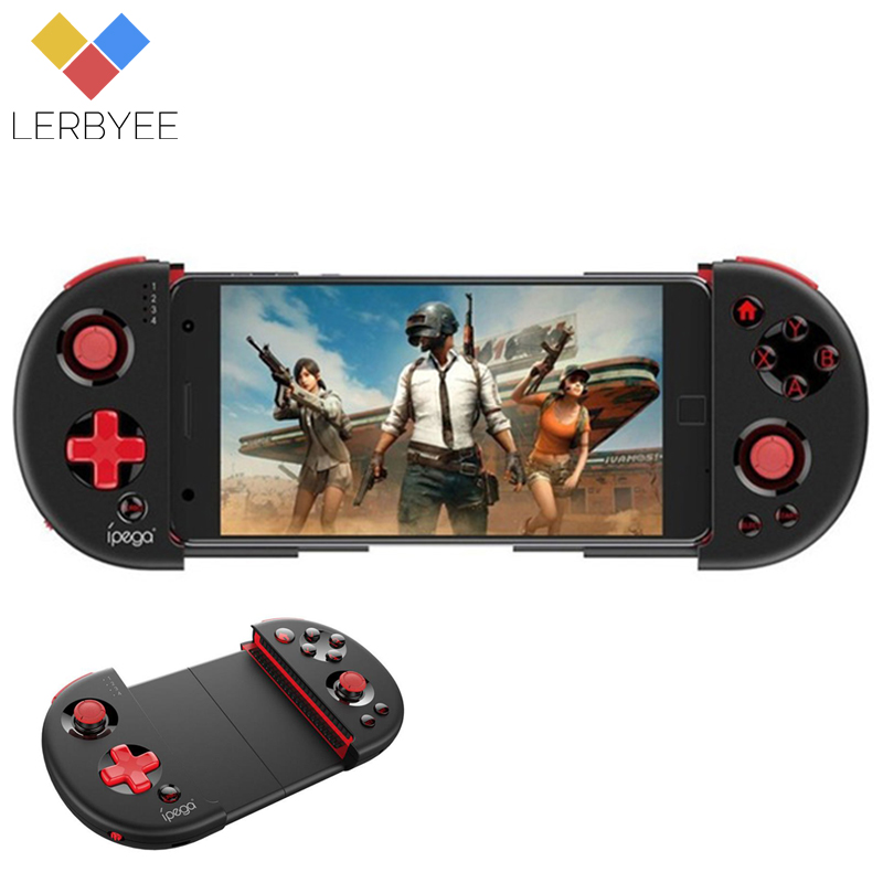 Lerbyee PG-9087 Gamepad Bluetooth inalámbrico Gamepad PC Joypad Game Controller Joystick para Android iOS Tablet PC Win 7/8/10