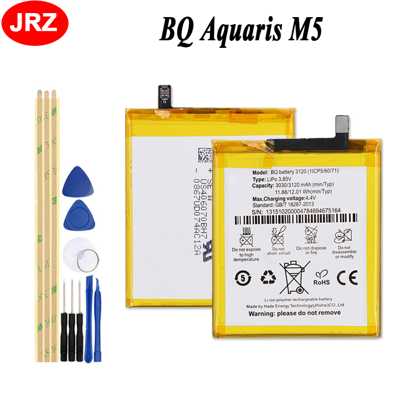 Herramientas Bateria repuesto para smartphone Bq aquaris M5 3120 mAh