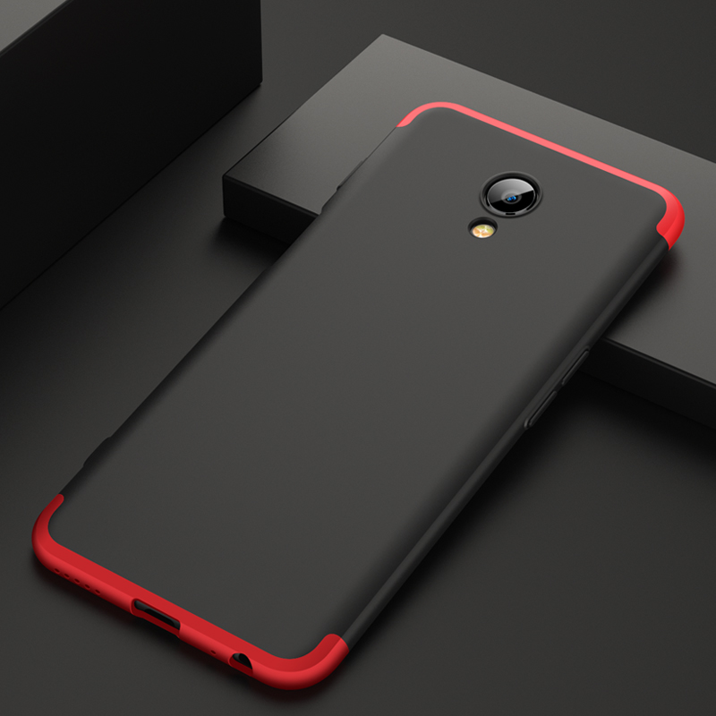 UVR Rugged Case For Meizu M6s 360 Degree Full Protection Anti-shock Hard PC Matte Cover For Meizu M6 s m6s s6 Fundas Coque