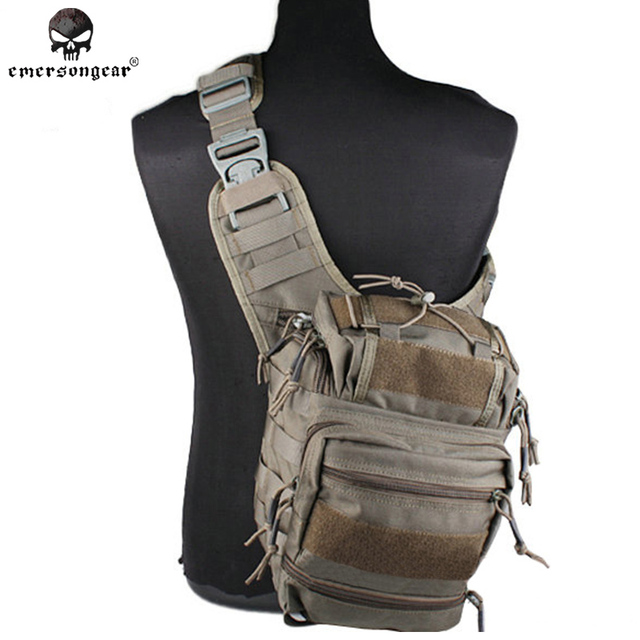 Emersongear Colossus Versipack Sling Pack Hunting Bag Military Tactical Gear Molle Shoulder Em8342