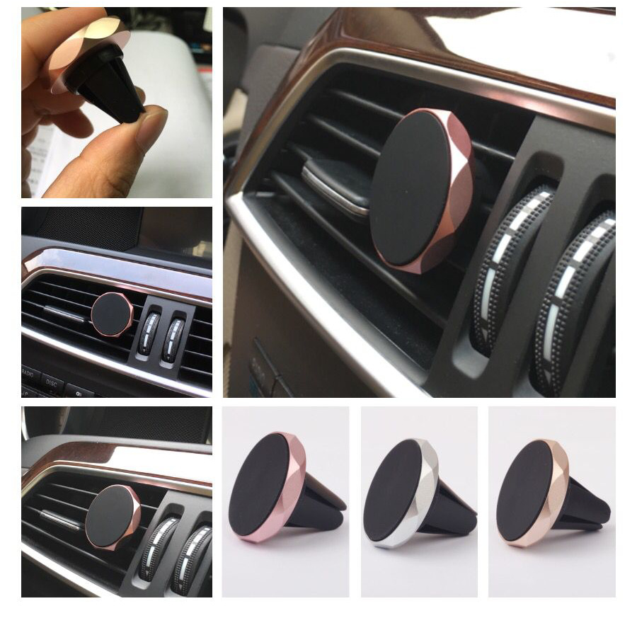 Magnetic Car Phone Holder For IPhone X 7 5s Air Vent Magnetic Car Holder For Huawei Mate 20 Pro Magnet Stand Holder For Phone