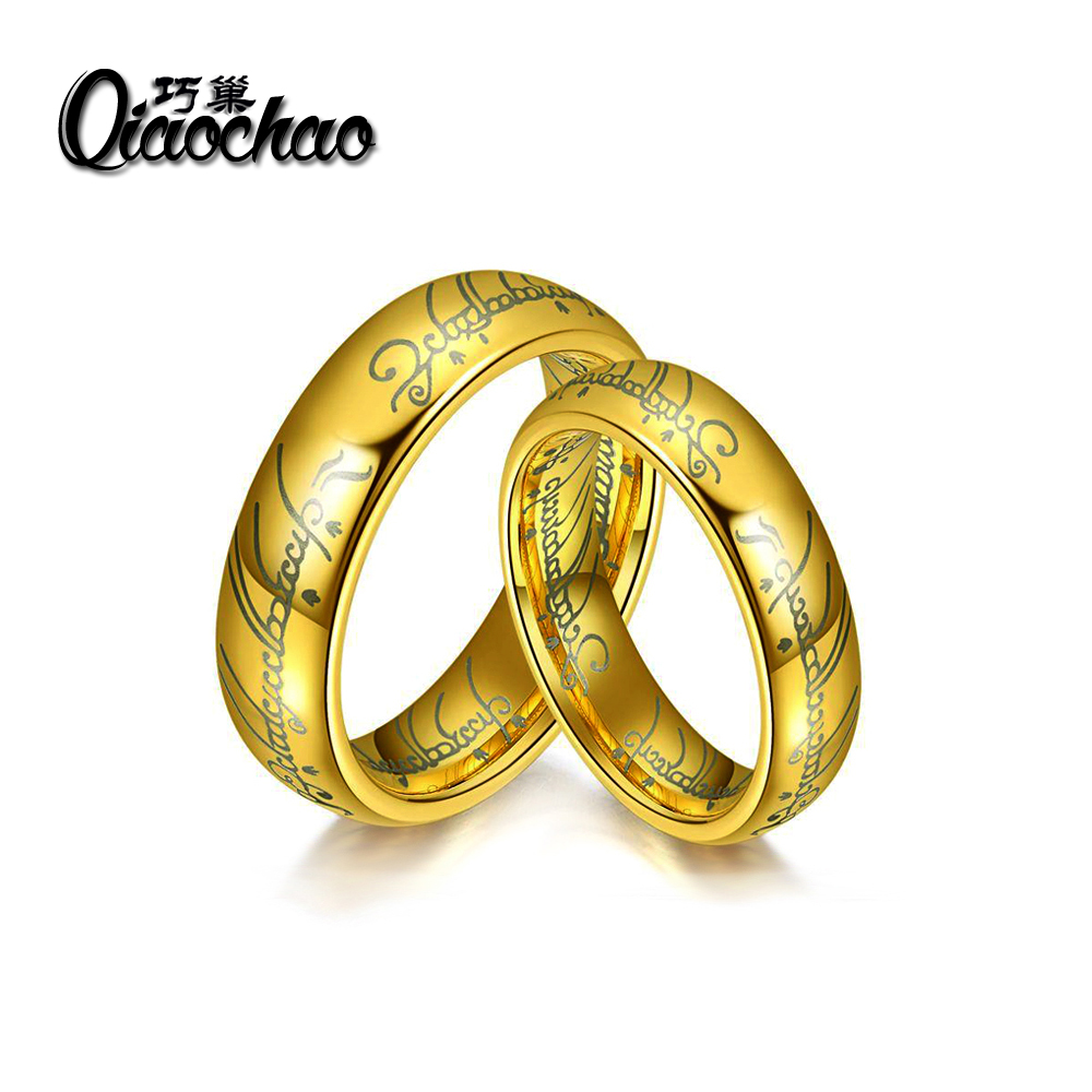 size6 10 one ring of power the lord of rings women finger wedding band fashion - The One Ring Wedding Band