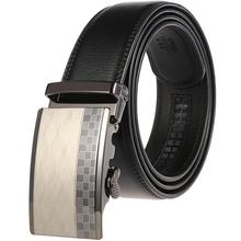 Fashion New Style Belts For Men Genuine Leather Cowskin Belt Automatic Buckle High Quality Business Male Men's Belts belts men 140cm 150cm 160cm 2017new fashion business casual male belt strong men best popular selling goods cool choice hot sale