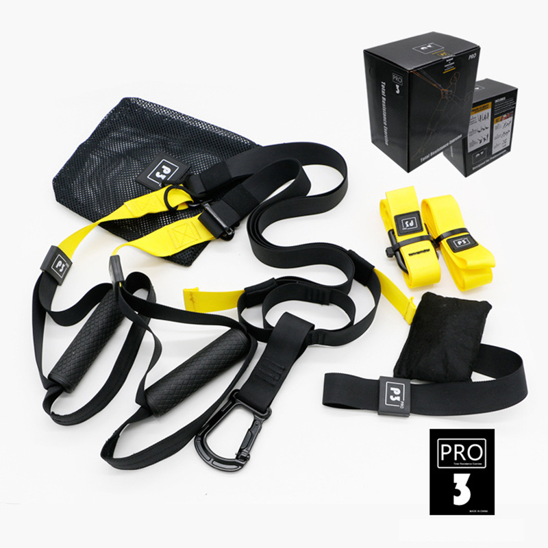все цены на Resistance Bands Fitness Crossfit Hanging Training Straps Gym workout Suspension Exercise Pull rope Elastic Bands yoga band