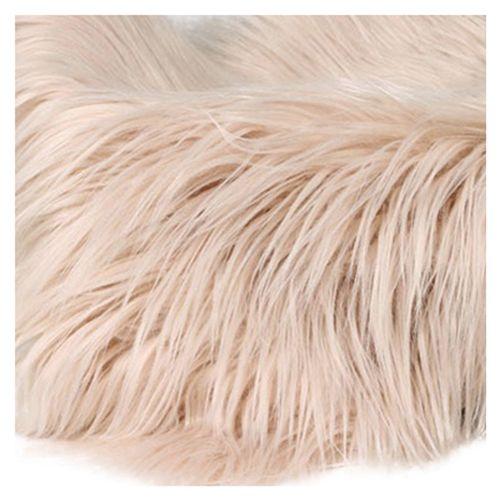 Baby Newborn Faux Fur Photography Photo Props Blanket Basket Stuffer Rug Beanbag Background Backdrop Beige Brown