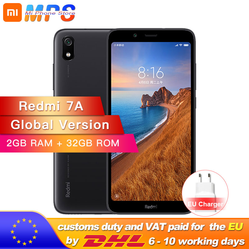 In Stock Global Version Xiaomi Redmi 7A 7 A 2GB 32GB ROM Snapdargon 439 Octa core
