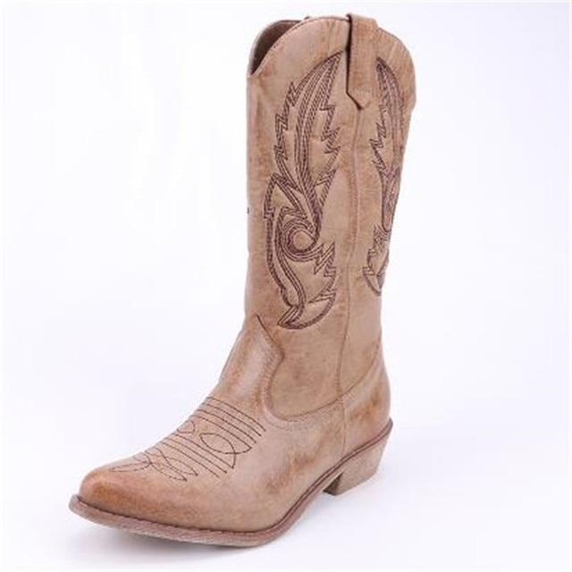square toe cowboy boots 1