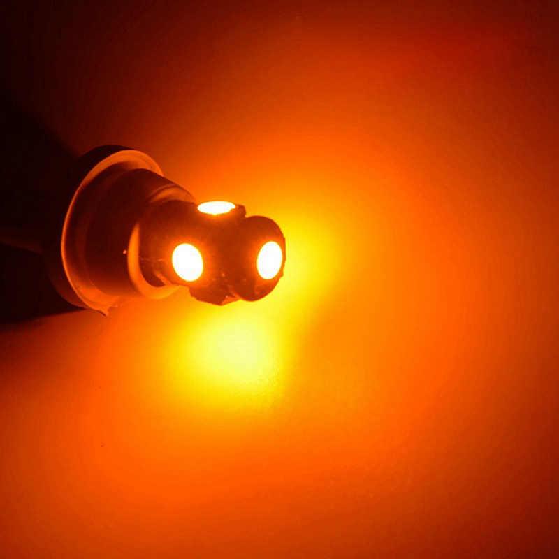 Katur 10 ชิ้น T10 W5W หลอดไฟ LED 5 SMD LED สีขาวสีฟ้าสีแดงสีเหลืองสีเขียว 194 168 Super Bright wedge ไฟหลอดไฟ 12 โวลต์ 5050 SMD