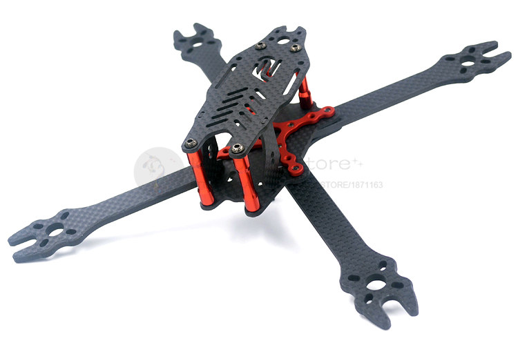 The newest DIY FPV cross racing mini drone F2 mito 210 pure carbon fiber quadcopter frame unassembled