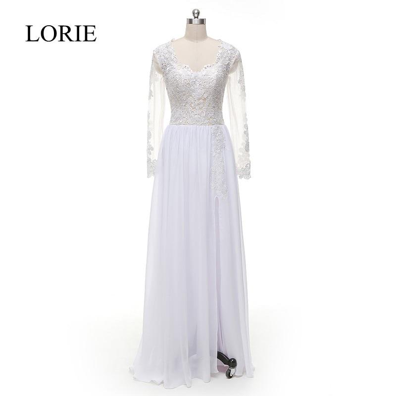 Aliexpress.com : Buy LORIE Long Sleeves Wedding Dresses
