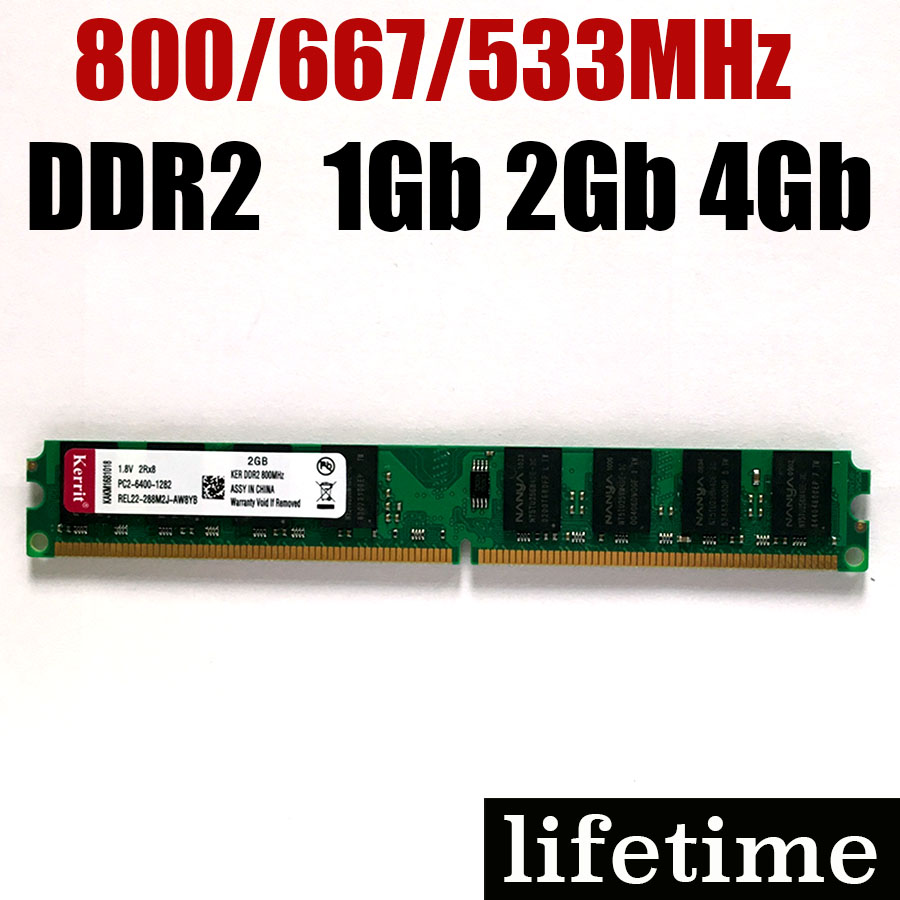 Ddr3 4 Gb Pc12800 Kingston Untuk Pc Ddr2 4gb Ram Memory 2gb For Intel Amd 800mhz 1gb Ddr 2 800 Lifetime Warranty In Rams From Computer Office On