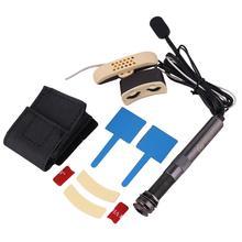Акустическая народная и классическая гитара Rocket EQ эквалайзер пьезо звукосниматель звуковое отверстие концевой штырь пикап Запчасти для акустической гитары
