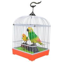 Hot Sale Voice Birds Toys Simulation Will Be Called Hyperactive Children Parrot Cage Induction Electric Toys