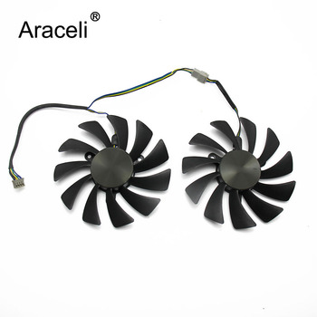 95mm GAA8S2U 42MM 4Pin GTX1070Ti AMP For ZOTAC Geforce GTX1080 Ti GTX 1080Ti AMP Edition VGA Graphics Card Cooling Fan image
