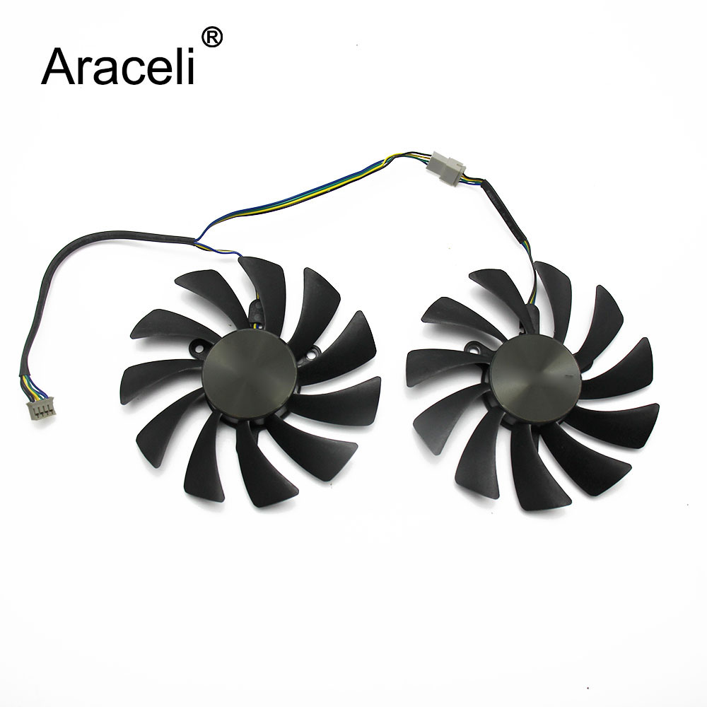 95mm GAA8S2U 42MM 4Pin GTX1070Ti AMP For ZOTAC <font><b>Geforce</b></font> GTX1080 Ti <font><b>GTX</b></font> <font><b>1080Ti</b></font> AMP Edition VGA Graphics Card Cooling Fan image