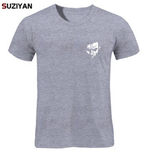2016 Funny Tee Cute T Shirts Homme Pumba Men Casual Short Sleeves Bone Cotton Tops Cool Ts