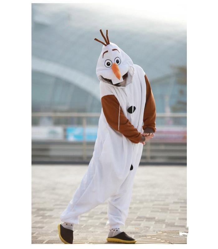 Olaf Cosplay kostiumas suaugusiųjų Oniesie pižama, pagaminta iš - Karnavaliniai kostiumai - Nuotrauka 2