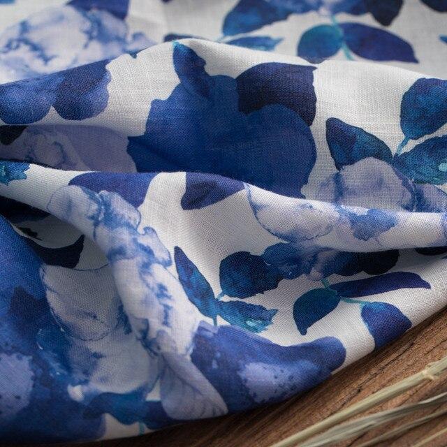 أقمشة الكتان النقي عالية الجودة المتقدمة مخصصة العلامة التجارية النسيج عالية الجودة ثوب ، فستان و شيونغسام تيسو