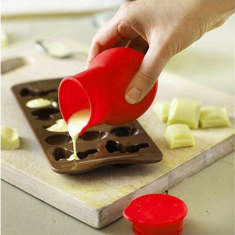 Diseñador de temática herramienta Silicona Molde Cupcake Topper Decoración Escalera Destornillador