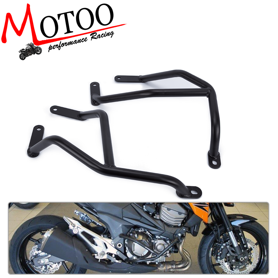 Motoo - Motorcycle Accessories For KAWASAKI Z800 2013-2016 Engine Protetive Guard Crash Bar Protector high quality for bmw r1200gs 2013 2014 2015 motorcycle upper engine guard highway crash bar protector silver
