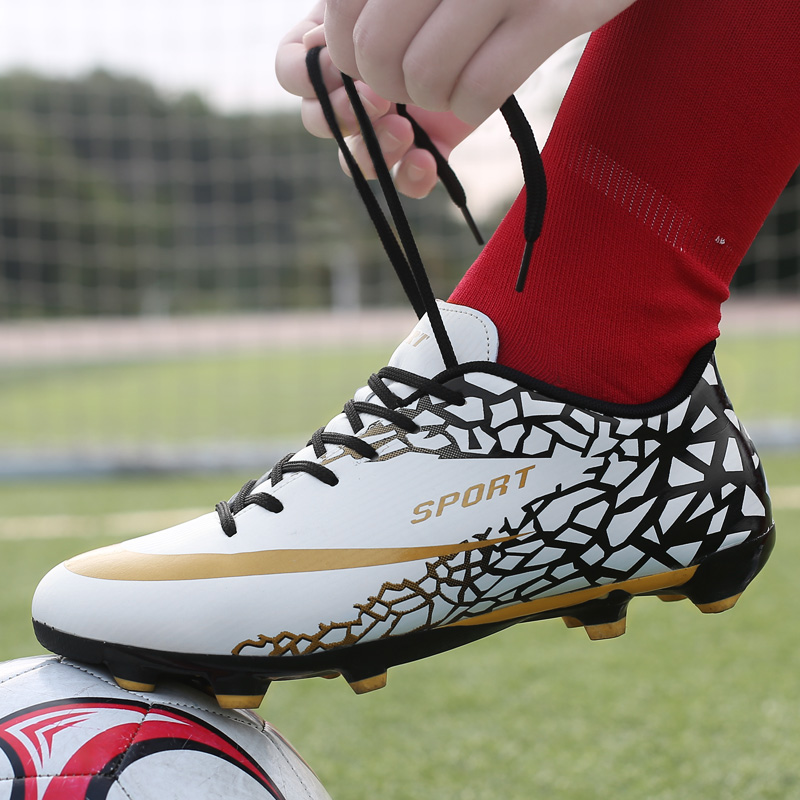 Sneakers Shoes Turf Football-Boots Soccer Cleats Futsal Training Superfly Boys High-Ankle