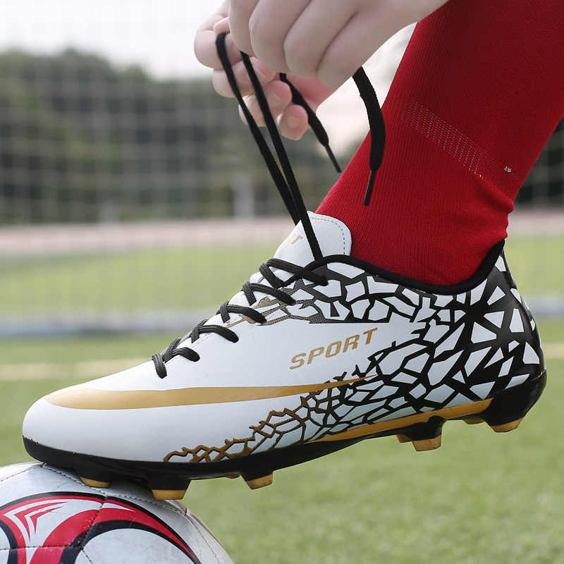 Indoor Turf Soccer Shoes Mens High Ankle Football Boots Original Superfly Soccer Cleats Shoes Boys Kids Training Futsal Sneakers