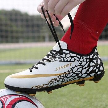 333785c7 Indoor кроссовки для бега, футбола мужские высокие ботильоны футбол сапоги  и ботинки для девочек оригинальный