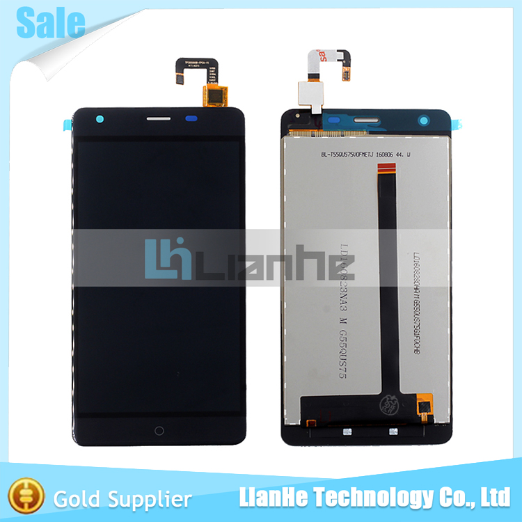 ФОТО Black/White For Ulefone Power LCD Display Screen Digitizer Assembly Replacement lcd for ulefone power lcd Free Shipping