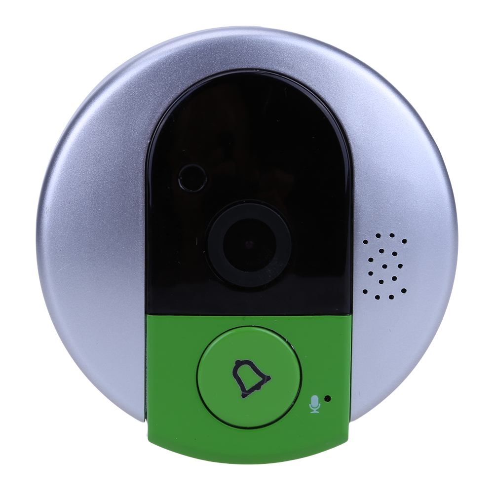 Doorbell US Plug High Definition IP Door Camera Wireless Doorbell WiFi Video Peephole Home Security Smart Doorphone System us eu uk au plug ip door camera eye hd 720p wireless doorbell wifi video peephole wifi door camera 100 240v ac 75 73 27mm