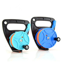 83 M Cave Diving Handle Reel Scuba Wheel Deep Traction Rope SMB Accessories Pull Buoy Kite Line