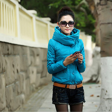 Новая Мода Женская куртка, Тонкий Элегантный пальто женщин зимнее пальто случайные хлопка ватник верхней одежды Бесплатная доставка G088
