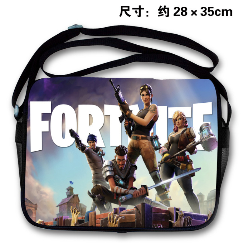 Game Fortnite School Bag Teenager Back to School Bag Cross Body Handbag Boys Girls Cartoon Backpack Action Figure Toys Gift Bag