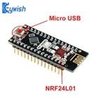 Keywish RF-Nano for Arduino Nano V3.0, Micro USB Nano Board ATmega328P QFN32 5V 16M CH340, Integrate NRF24l01+2.4G wireless