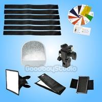 Godox SA K6 6in1 Speedlite Accessories Kit Softbox Filter Reflector Flash Holder