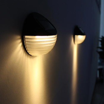 6 Led Solar Light/Lamp Outdoor Waterproof/Solar Bulb Wall Light outdoor Street Garden Pathway Solar Lamp For Garden Decoration