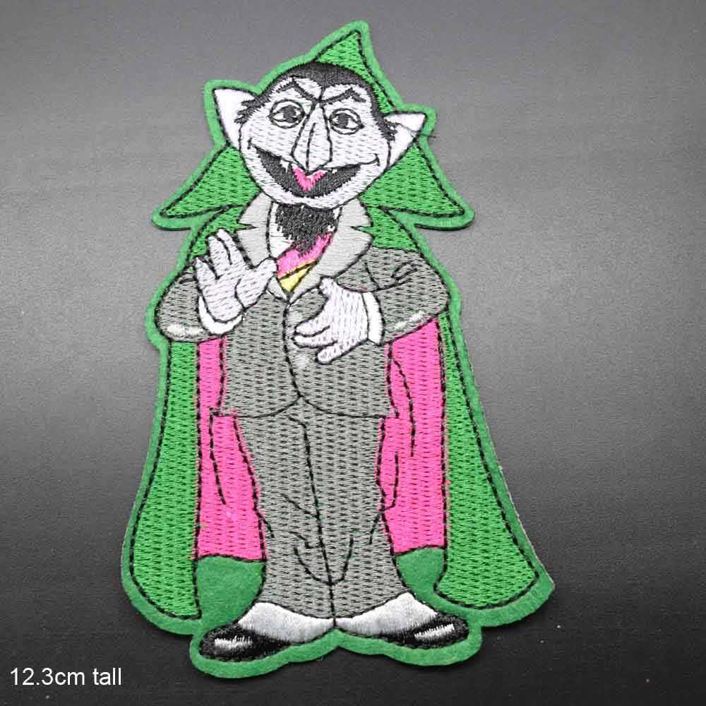 Yarasa vampir Dracula demir On işlemeli elbise giyim için yamalar çıkartmalar konfeksiyon giyim aksesuarları