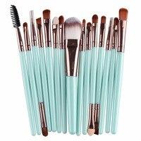 15pcs Set Professional Makeup Brush Brush Sets Toiletry Kit Wool Make Up Brush Set Overmal Wholesale