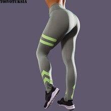 TOIVOTUKSIA Printing Leggings New Fashion Slim High Waist Fitness Casual Bottom Workout Pants