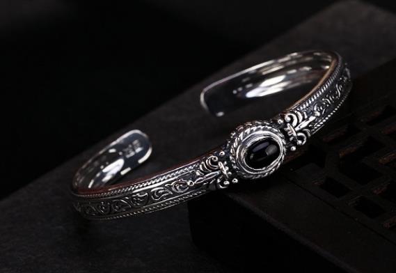Bracelet vintage en argent Sterling S990 990Bracelet vintage en argent Sterling S990 990