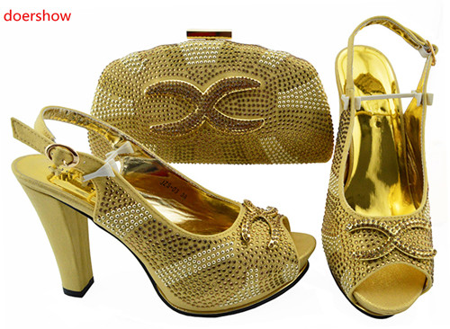 doershow Italian Shoes with Matching Bags Shoes and Bag Set African Sets 2018 African Women Italian Shoes and Bag Set SJZS1-6doershow Italian Shoes with Matching Bags Shoes and Bag Set African Sets 2018 African Women Italian Shoes and Bag Set SJZS1-6