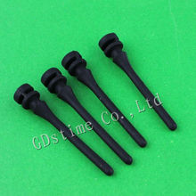 50PCS Lot Black Silicon Silicone Screw Fixer For PC Computer Fan Shock Absorption Reducte Noise цена и фото