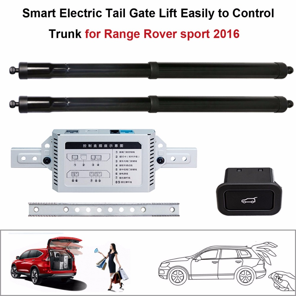 Electric Tail Gate Lift for Range Rover sport 2016 Control by Remote