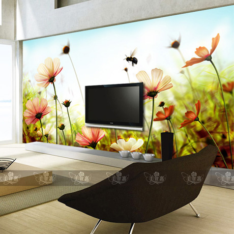Custom large murals TV backdrop bedroom sofa TV wall painting 3D wallpaper 3D wallpaper wall painting prairie landscape custom baby wallpaper snow white and the seven dwarfs bedroom for the children s room mural backdrop stereoscopic 3d