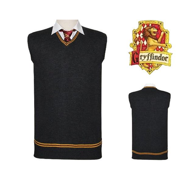 Gryffindor Slytherin Ravenclaw Hufflepuff Vest 1