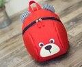 De 1 a 3 años Niño anti-perdida mochila niños del bolso del bebé animal lindo perro niños mochilas bolsa de la escuela jardín de infantes mochila escolar