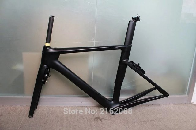 Cheap 2016 Newest 700C Road bike matte UD full carbon fibre bicycle frame with brake+fork+seatpost+headsets lightest parts Free ship