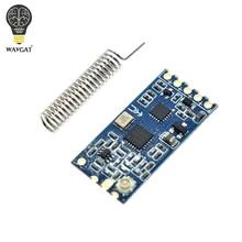 WAVGAT 433Mhz SI4463 HC 12 אלחוטי יציאה טורית מודול 1000M להחליף Bluetooth המקורי