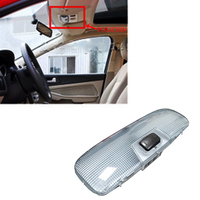 JEAZEA Car Styling Interior Reading Light Dome Lamp Signal One Button for Ford Focus Fiesta Mondeo 2005 2014