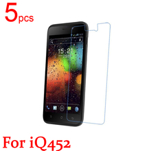 5pcs Ultra Clear Matte Nano anti Explosion LCD Screen Protector Film Cover For FLY iQ451 IQ452